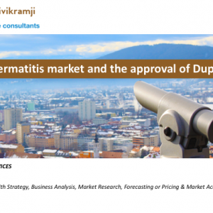 The Atopic Dermatitis market and the approval of Dupixent